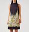Hobbs-Floral-Satin-Sleeveless-Delilah-Tunic-Navy-Wedding-Racer-Shift-Dress thumbnail 1