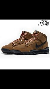 buy online cee3c 49291 Details about Nike SB Dunk High OMS UK 7.5/8 EU 42 Military Brown Black  RRP£130.00