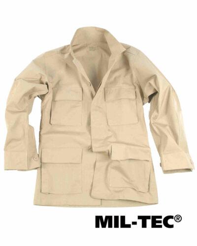 Mil-Tec US BDU FELDJACKE R//S KHAKI Outdoorjacke Jacke