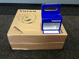 GENUINE-VOLVO-REAR-BRAKES-BRAKE-DISCS-amp-PADS-NEW-V70-S80-XC70-S80-V60-SOLID