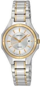 SEIKO-SXDE14-SXDE14P1-Mens-Watch-WR100-two-tone-elegant-NEW-RRP-499-00