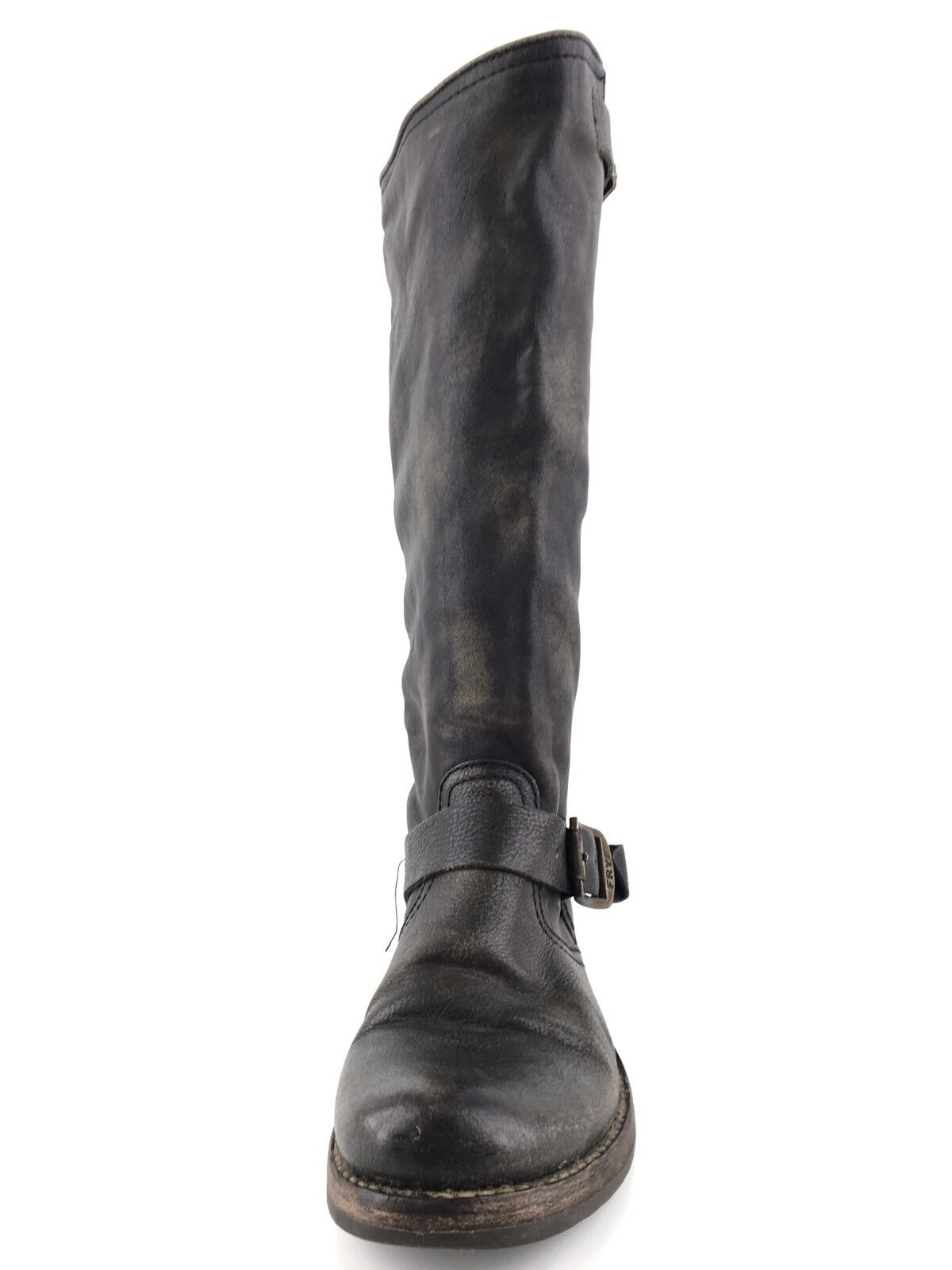 Frye Veronica Slouch Dark Brown Leather Riding Boots Womens Womens Womens Size 6.5 77609  328 5ff8ba
