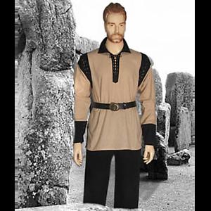 Medieval Pirate Peasant Shirt Renaissance Theater LARP