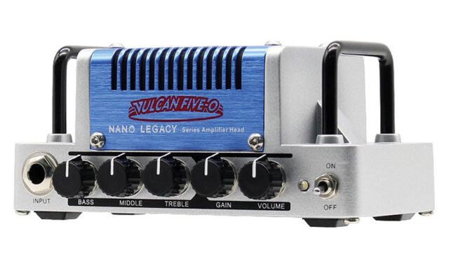 Hotone Nano Legacy Vulcan Five-O 5W Class AB Guitar Amplifier Head 888506020063