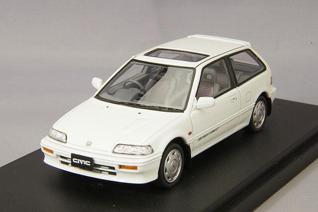 mejor reputación 1 43 Mark 43 Honda Civic Si EF3 Nuevo Nuevo Nuevo blancoo Polar PM4358W  venta al por mayor barato