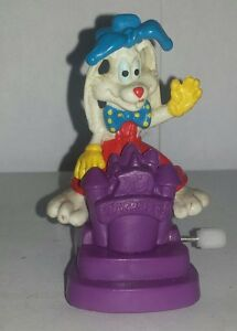 Original-Disney-Roger-Rabbit-1991-Windup-Figure-Cake-topper-FREE-SHIPPING-CAN-US