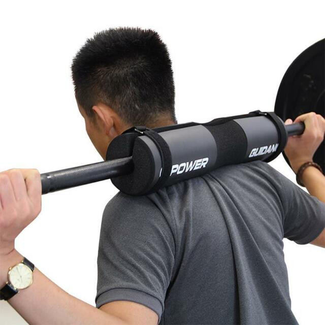 Gym Weight Lifting Barbell Pad Cover Squat Foam Padded Shoulder Back Support