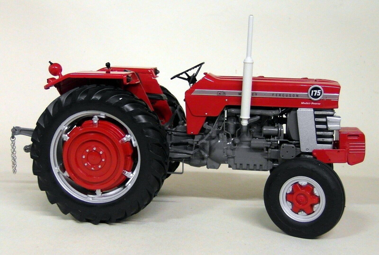 diseños exclusivos Uh 1 16 escala 2906 Massey Ferguson 175 Tractor de de de Modelo Diecast Vintage Rojo  mejor marca