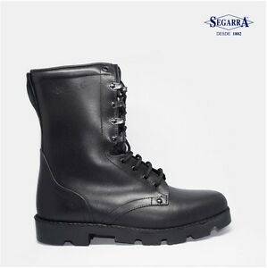 Botas-Militares-de-Piel-Segarra-Moto-Talla-36-37-38-39-40-41-42-43-44-45-46-47