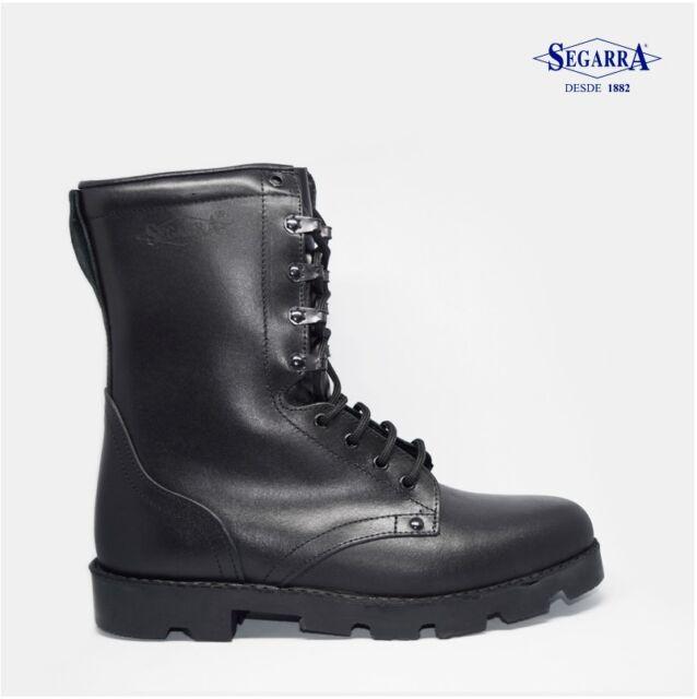 zapatos genuinos barato venta reino unido Botas Militares de Piel Segarra Moto Talla 36 37 38 39 40 41 42 43 44 45 46  47
