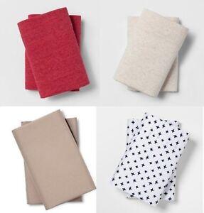 Room-Essentials-Pillowcases-Assortment-Choice-Standard-King-Microfiber-Jersey