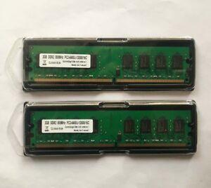4GB-2-X-2-GB-DDR2-RAM-PC2-6400-800-MHz-Arbeitsspeicher-RAM