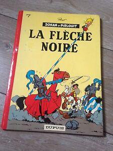 la-fleche-noire-1973-par-Peyo-JOHAN-ET-PIRLOUIT-dos-rond-BDM-40e