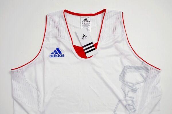 """Adidas """"H/R Jersey W"""" Damen Basketball Trikot Sport Dress Tank Shirt Women weiss"""