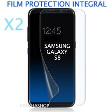 Lot de 2 Films Protection Entier Pour Écran Incurvé Pour Samsung Galaxy S8