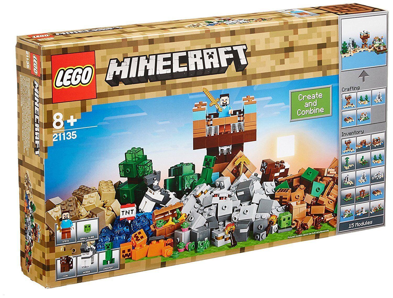 Lego ® Minecraft ™ 21135-el crafting-box 2.0 – 717 piezas de nuevo con embalaje original