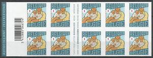 Belgie-GEBOORTE-JONGEN-ONGETAND-BOEKJE-10zgls-Cat-60-Naissance-Garcon-NONDENT