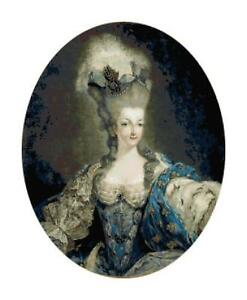 Portrait-of-Marie-Antoinette-DIGITAL-Counted-Cross-Stitch-Pattern-Needlepoint