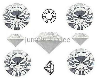 24ss 5.3mm 36 pcs Crystal Clear Swarovski Chaton 1088 Pointed Back Rhinestones