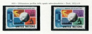 19118-UNITED-NATIONS-New-York-1975-MNH-Peace-Space