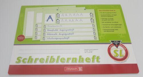 Schreiblernheft Übungsheft A4 quer SL Brunnen 1044040