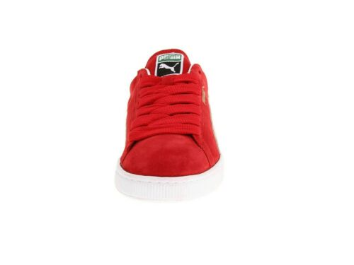 Men/'s Shoes PUMA SUEDE CLASSIC Casual Sneakers 352634-65 RED WHITE