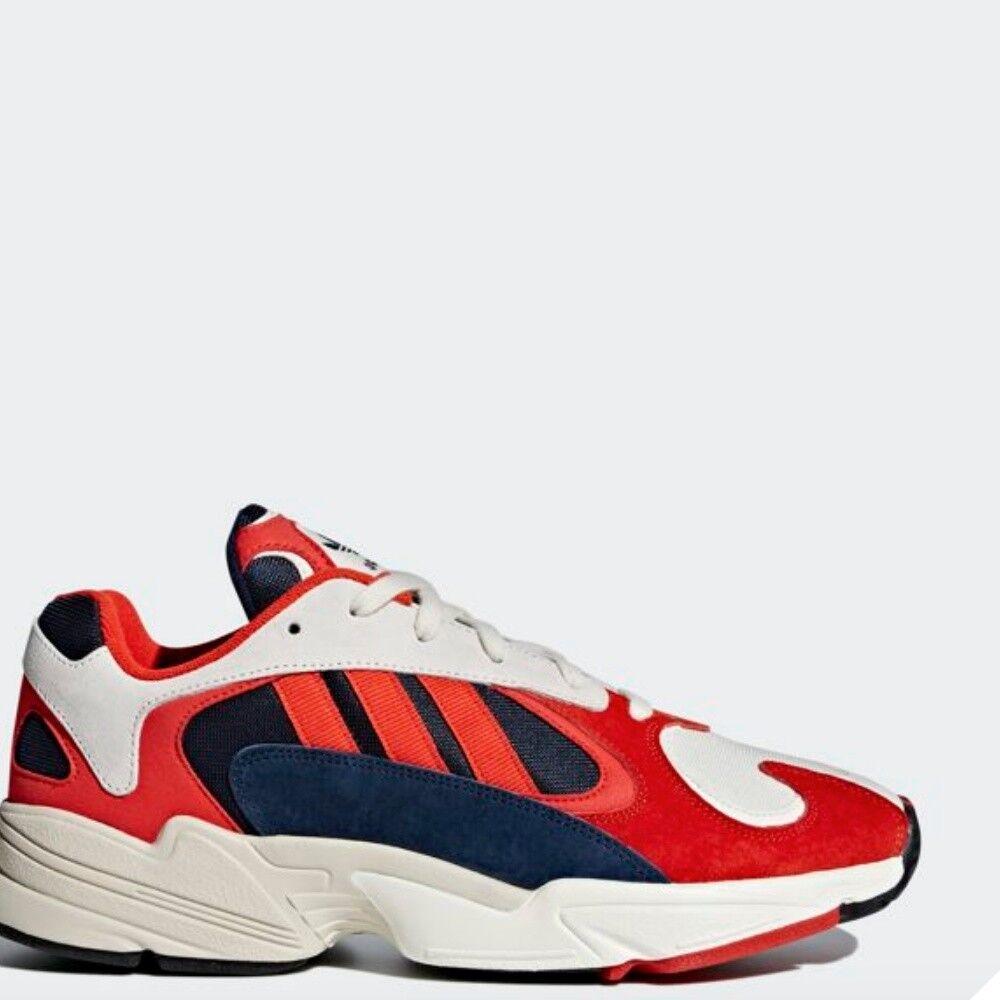 Adidas Originals Yung - 1 HI FonctionneHommest paniers Rouge Bleu Marine Orange Sz5-13 B37615