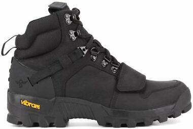 Creative Recreation Dio Tactical Black Leather Boots Vibram Sole