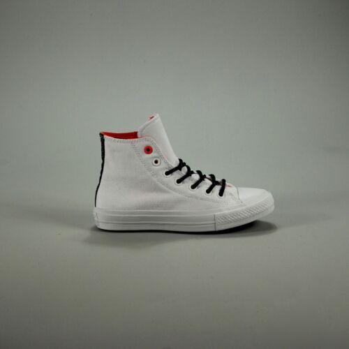 4 Converse Size 7 Hi gomma Box Chuck di lava scarpe 5 da New Uk 6 9 Ii In Bianco ginnastica Taylor rvrqwZ7