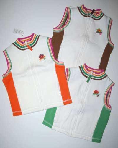 TCP Princess 18 Fleece Zip-Front Vest XS 4 4T Choose
