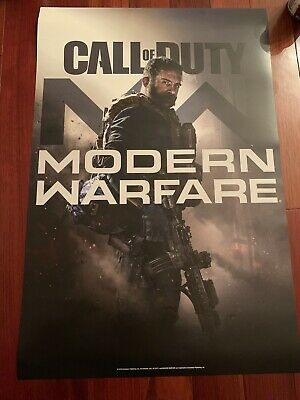 Call of Duty Modern Warfare Two Sided Poster 18x27 *Free Army Lanyard*