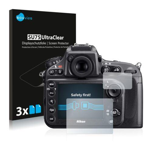 6x protector de pantalla para Nikon d800 claro transparente protectora protector de pantalla