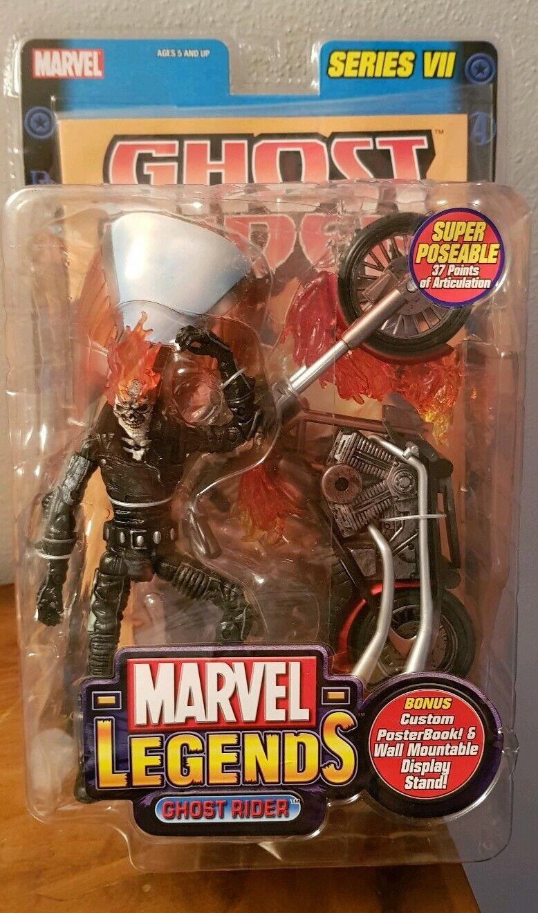 MARVEL LEGENDS ghost rider toy biz universe hasbro baf spirit vengeance blaze