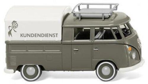 """Wiking 078905-VW t1 doble cabina /""""VW servicio posventa/"""" 1:87 /_ nuevo//en el embalaje original /_ agotado"""