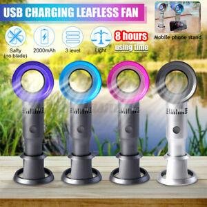 Tragbarer-Blattloser-Handventilator-Mini-USB-mit-2000mAH-Akku-Bladeless-Fan