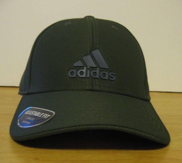 8ddd1524ef6 OSFM Men s Adidas Decision Night Cargo   Onix Adjustable StrapBack Green Hat  NWT