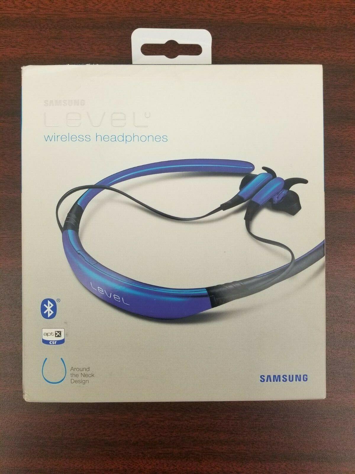 Samsung Level U Bluetooth Wireless In Ear Headphones W Microphone Blue New Nib For Sale Online