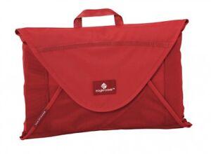 Discret Eagle Creek Pack-it Garment Folder Small Housse à Vêtements Vêtements Sac Rouge Nouveau-afficher Le Titre D'origine