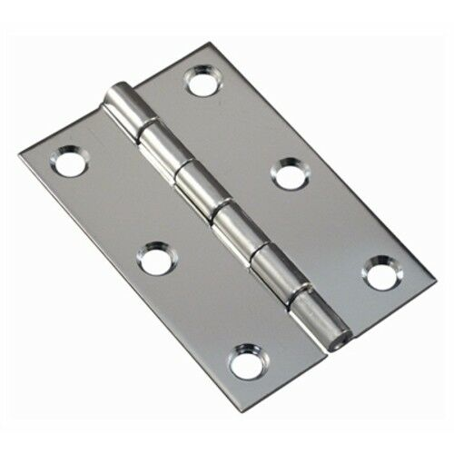 "Boat Marine Stainless Steel Butt Hinges 1 Pair 3/"" Open Width /& 3/"" Pin Length"