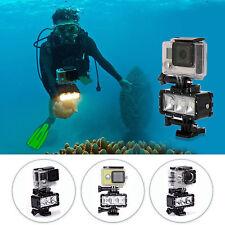SHOOT Diving Waterproof LED Video Light Flashlight for GoPro 5 4S 4/3+3 2 SJ7000