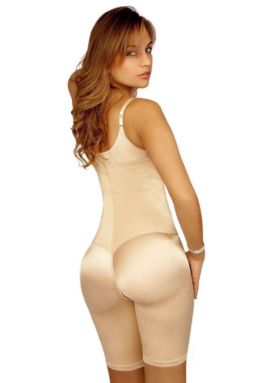 VEDETTE 104 Faja Colombiana Reduce medidas Mid-Thigh Full Body Shaper ENFAJATE