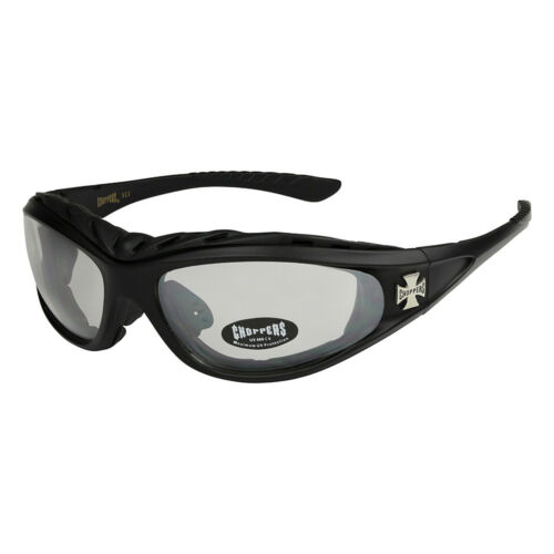 Choppers 202 Sonnenbrille Sport Brille Rad Herren Damen Männer Frauen schwarz