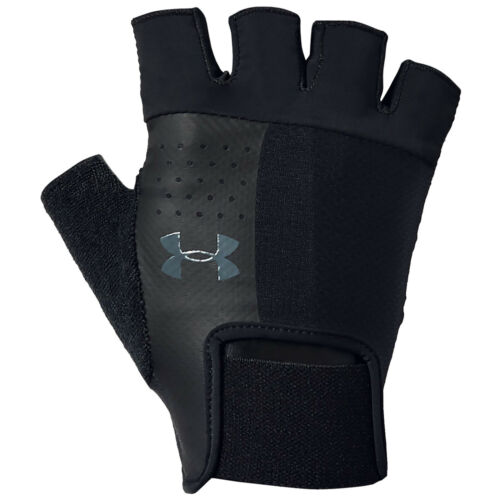 2020 Under Armour Mens Fingerless Training Gloves UA Sports Fitness Gym Workout