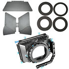 Neewer Aluminum Alloy Swing-away Matte Box with Filter Tray for Camera Camcorder