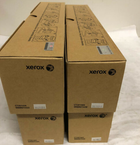 Genuine Xerox 7120 7125 Toner Set C,M,Y,K