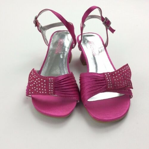 Details about  /New Kenneth Cole Reaction Rhinestone Little Girls Dress Sandal Size 1 2.5 3