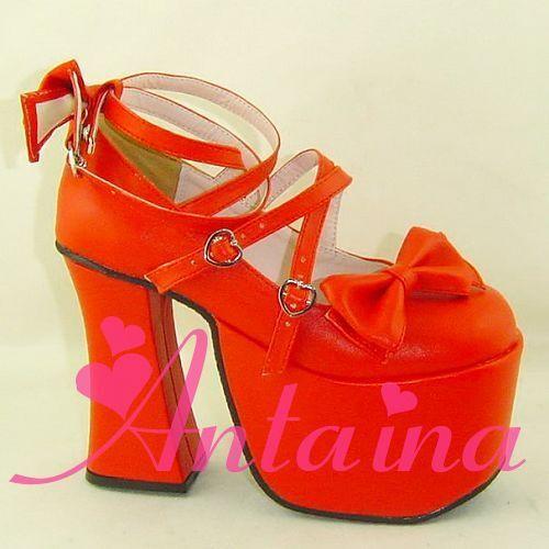 New Lolita tea party badydoll sweet bows Shoes 9803-12 Custom made
