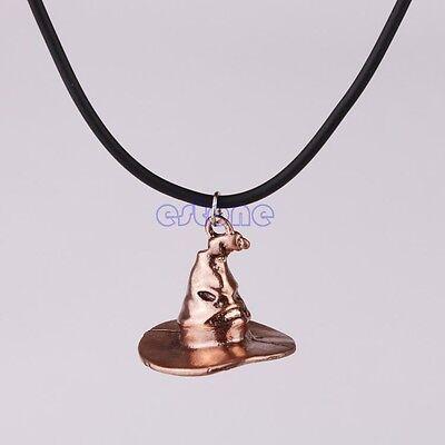 Cap Hat Pendant Necklace