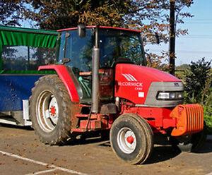 mccormick tractor cx series cx90 cx95 cx100 cx105 shop service rh ebay com Crosslinker CX 100 100 International CX