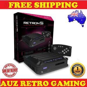 HYPERKIN-RETRON-5-Play-SNES-NES-GBA-NINTENDO-GAMEBOY-amp-SEGA-MEGADRIVE-Cartridges